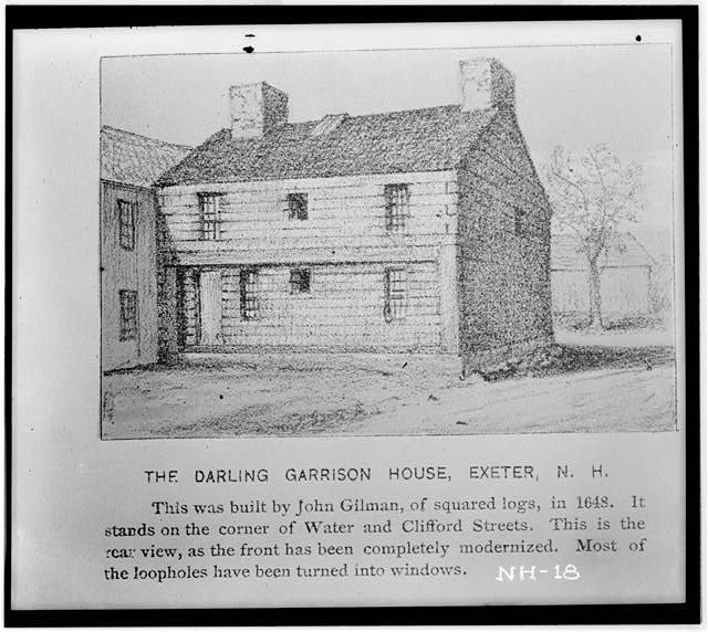 Gilman Garrison Water Clifford Streets Exeter Rockingham County Nh 1648 Historic Houses