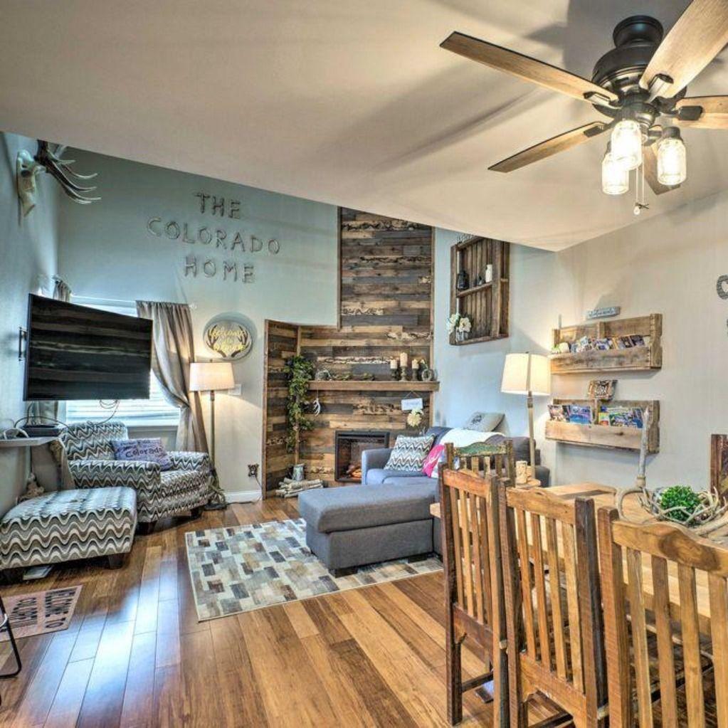 Book your next Central Colorado getaway to this rustic 3