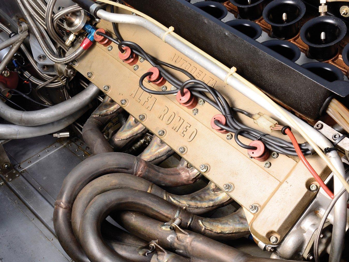 1980 Alfa Romeo Tipo 179 Formula One Monoposto Alfa Romeo Formula One Vintage Race Car
