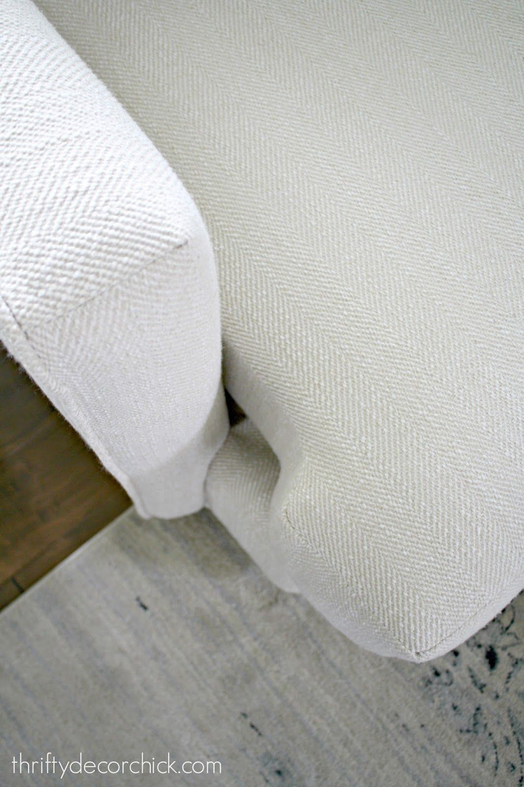 Easy Hack To Prevent Sofa Cushions From Sliding Cushions On Sofa Diy Couch Couch Cushions