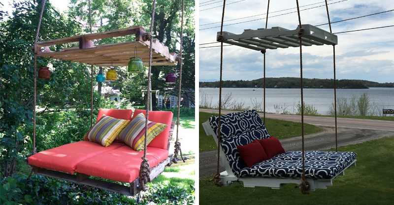 Why Ordinary, Boring Swing When You Can Build This Cool Hanging Chair!