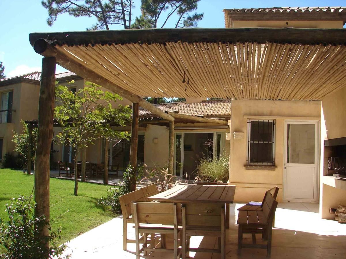 P rgola de ca a patio y plantas pinterest pergolas for Casas para decorar