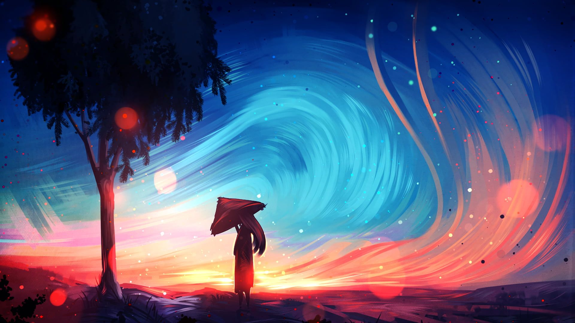 3840x2160 Digital Art 4k Wallpaper High Resolution Scenery Wallpaper Anime Scenery Wallpaper Landscape Illustration