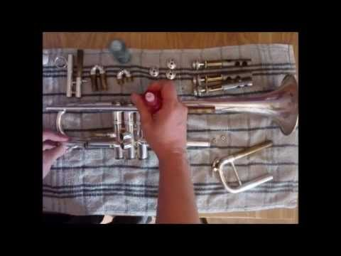 How To Clean Your Trumpet Trumpet Instrument Slide Trumpet Cleaning
