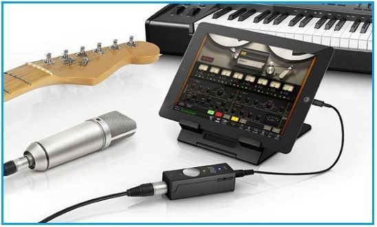 Get great sound best iPad audio interface works with iOS Mac