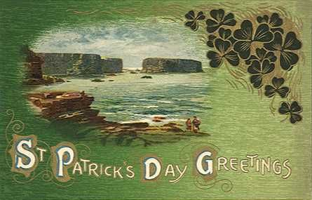 St patricks day greetings postcard st patricks day pinterest old fashioned saint patricks day greeting card m4hsunfo