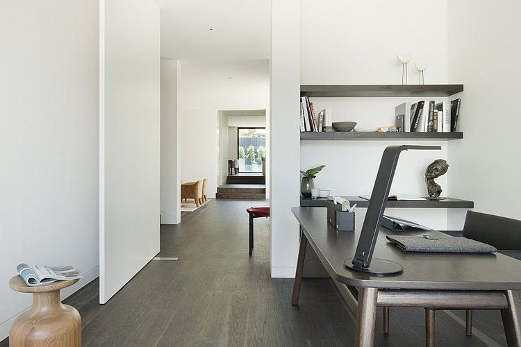 Lubelso residence by canny houses werkkamer