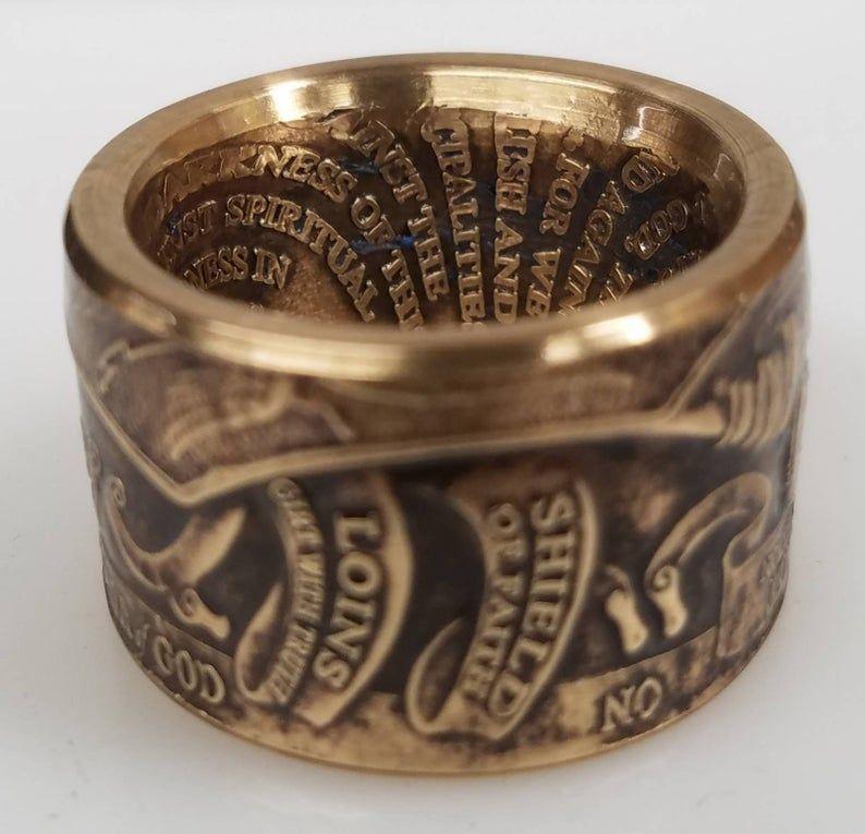 Armor Of God Ring*Christian Ring*Bible Verse Ring
