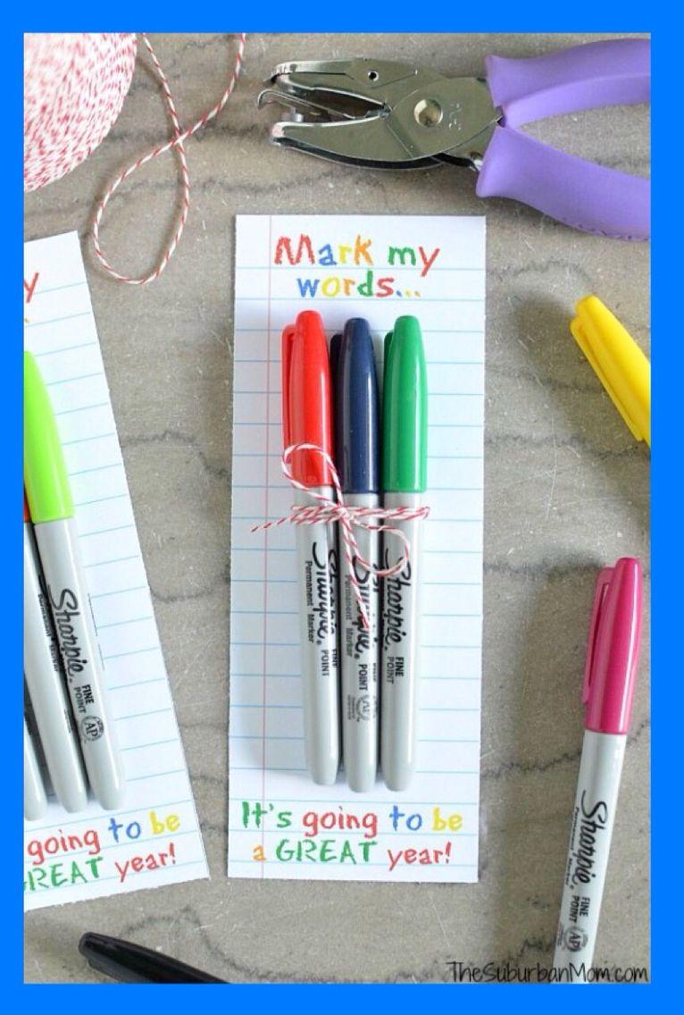 Sharpie Teacher\'s Gift Printable | Pinterest