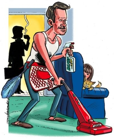 Mr Useless Myth For Stay At Home Men A Female Creation Gender Stay At Home Chore Organization