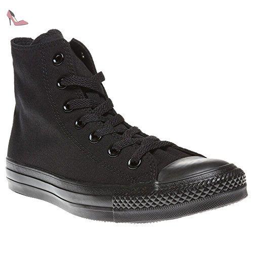 Converse All Star Hi Garcon Baskets Mode Noir - Chaussures ...