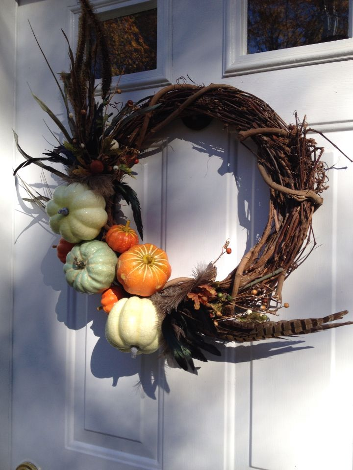 Thanksgiving wreath by me