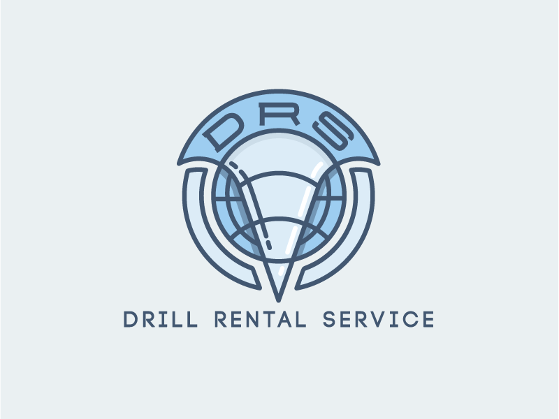 Drill Rental Logotype