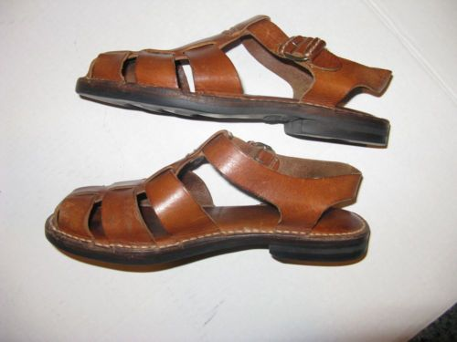 Awesome Vintage Cole Haan Leather Sandals Full Shoe Sandal Shoe Size 8 Leather Sandals Shoes Shoes Sandals