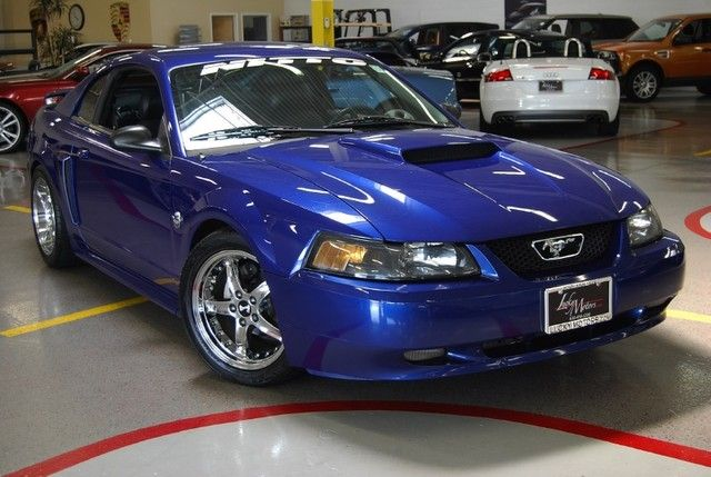 2004 Ford Mustang 40th Anniversary Blue Intoautos Com Image Results 2004 Ford Mustang Ford Mustang Mustang