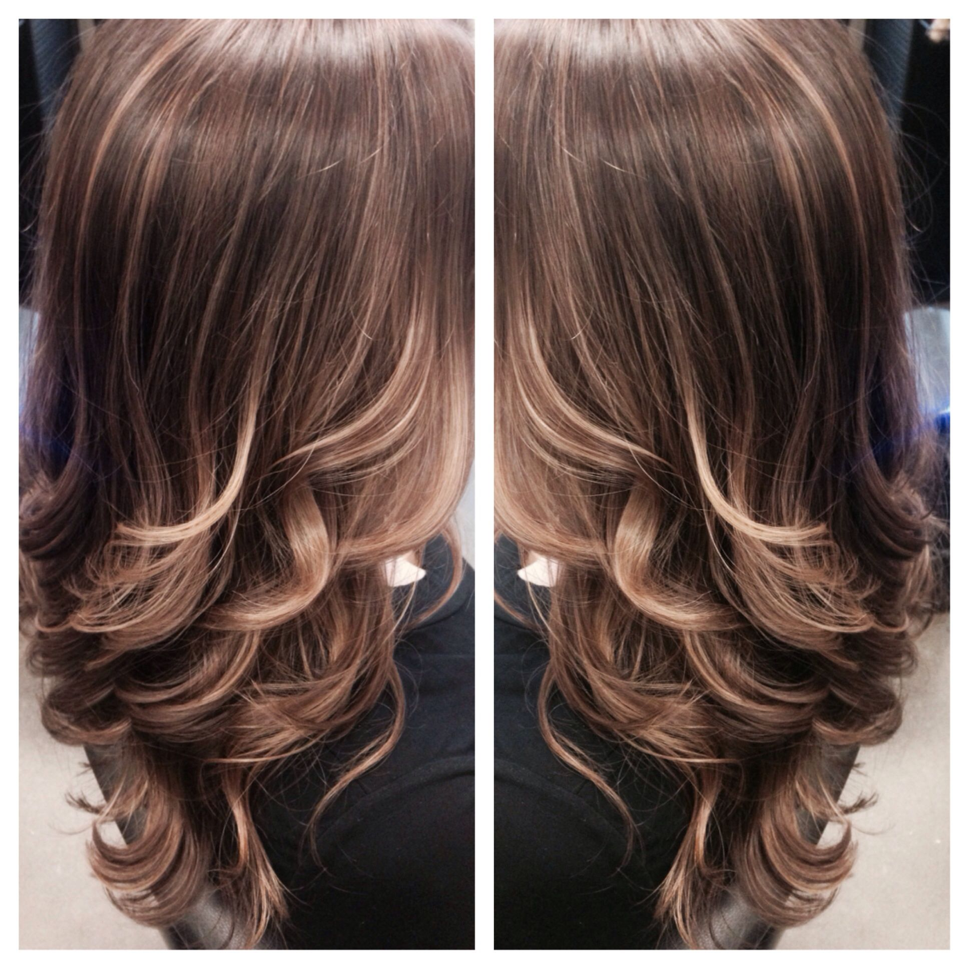 Mill Creek Town Center: Subtle Highlights Created By Balayage For A Soft And