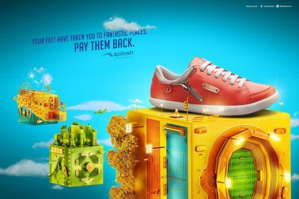 Kolosh Streetwise es una marca de zapatillas, que para esta ocación nos trae sus productos en cada su propia habitad natural.