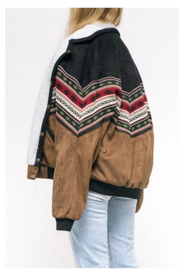 Girl Coats Arizona Vintage Jacket Arizonavintagejacket In 2021 Vintage Jacket Funky Outfits Cold Outfits [ 1143 x 762 Pixel ]