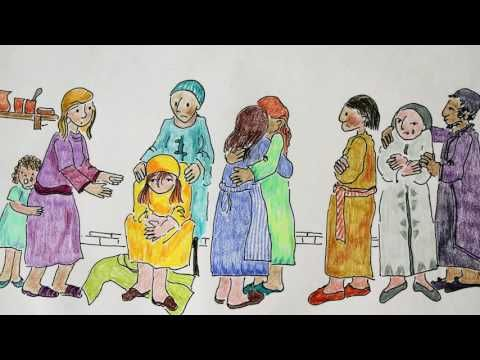 Raising Of Lazarus For Kids Youtube Spring Jesus Brings