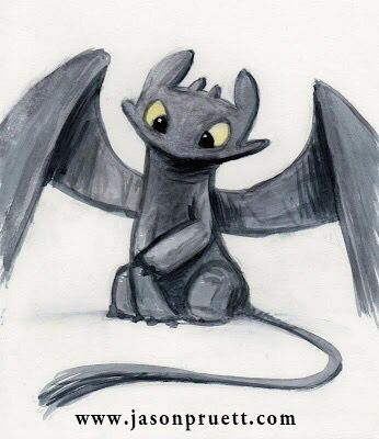 Chimuelo Dibujo De Dragon Arte De Dragon Dragones