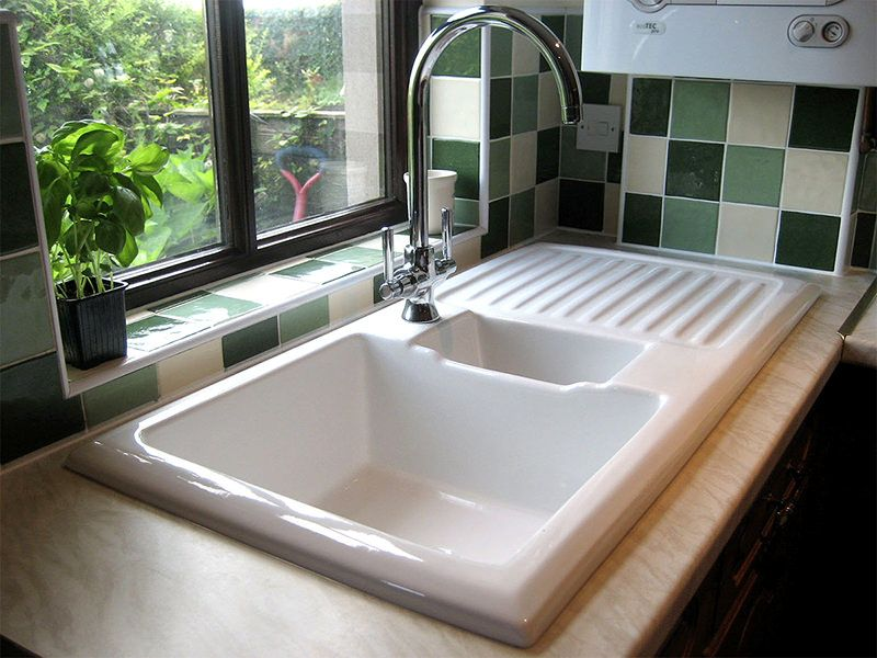 Rangemaster Kitchen Sinks Rangemaster ceramic kitchen sink white lh drainer qs supplies rangemaster ceramic kitchen sink white lh drainer qs supplies customer installed bathroom picture review workwithnaturefo