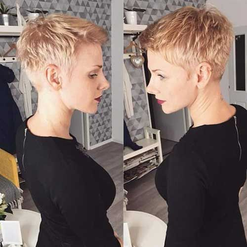 Sweet short hair cuts-11 - hair growth,hair tips,curly hair,hair care,wedding hair,hair tutorial #frisurenkurzehaare