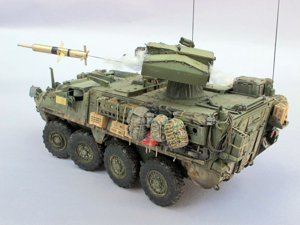Flickriver: Photoset 1/72 M1126 Stryker Diorama by a2point0k