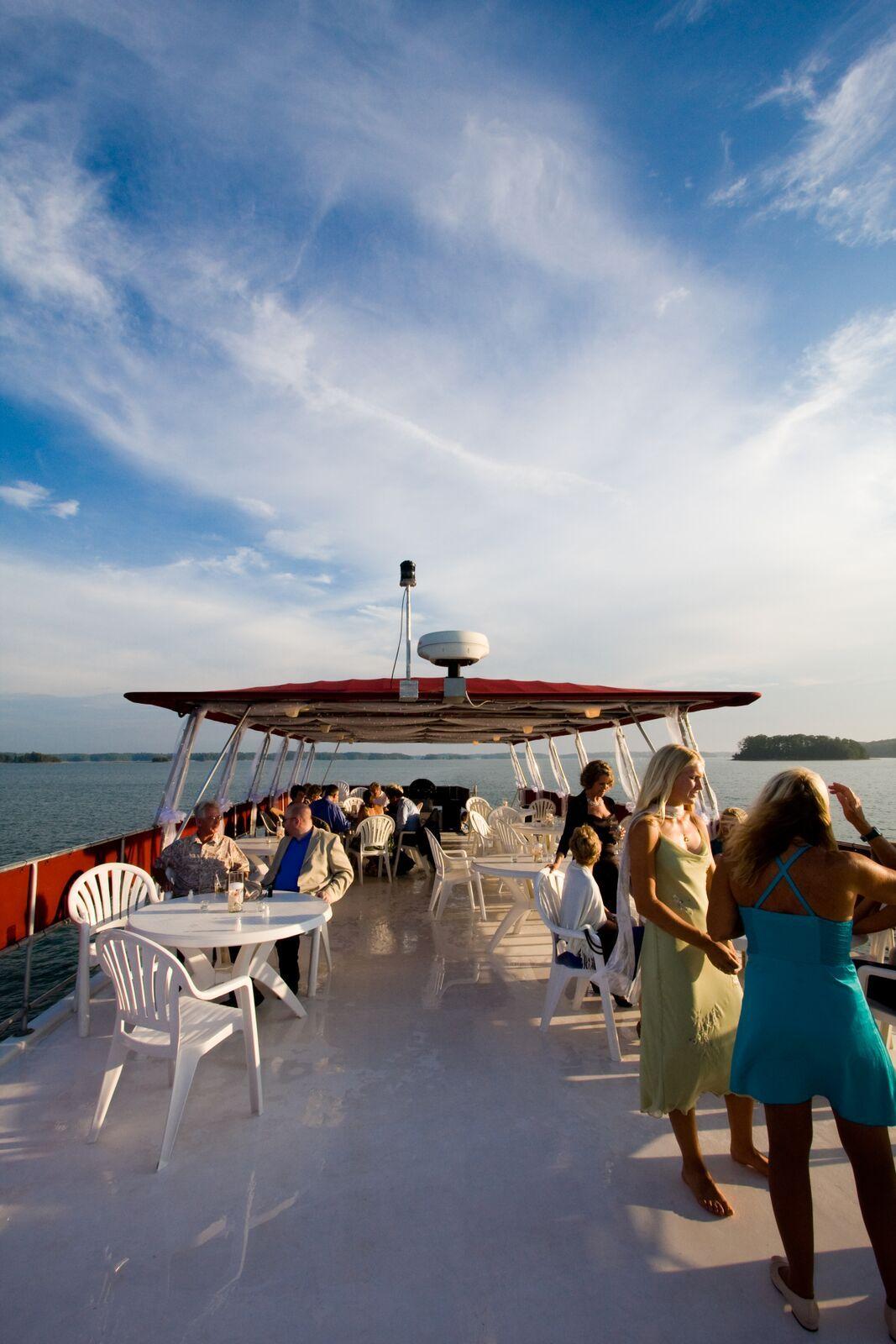 Pin by Lanier Islands on Yacht Weddings | North georgia ...