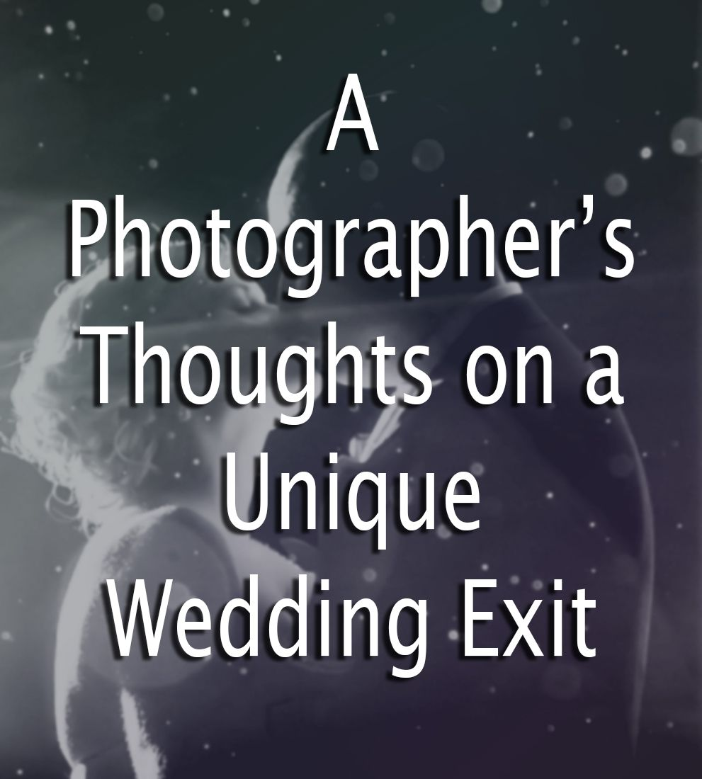 B. Inspired: A Photographers Thoughts On A Unique Wedding