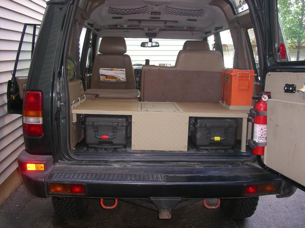 Land Rover Defender Modified Interior 1996 Land Rover Discovery I 4x4 Pinterest Land
