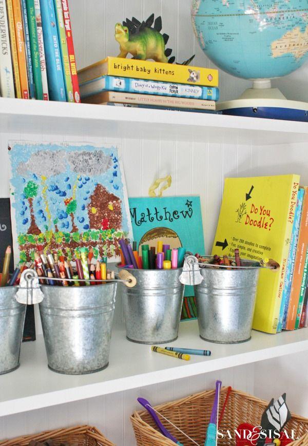 Playroom Storage Ideas- Decorating Built Ins | Playroom storage ...
