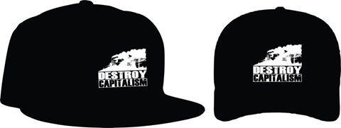 knupSilk - ESTAMPARIA/SERIGRAFIA: Destroy Capitalism
