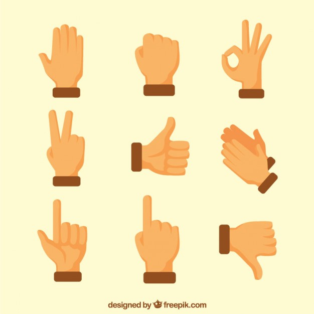 Flat Sing Language Icons Collection Language Icon Icon Collection Motion Design Animation