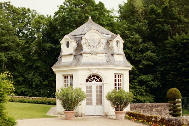 amazing garden house in loire valley
