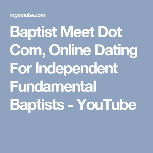 what does god think of online dating