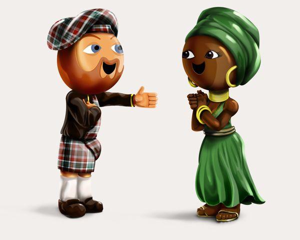 3D Cartoon Character #3D #character