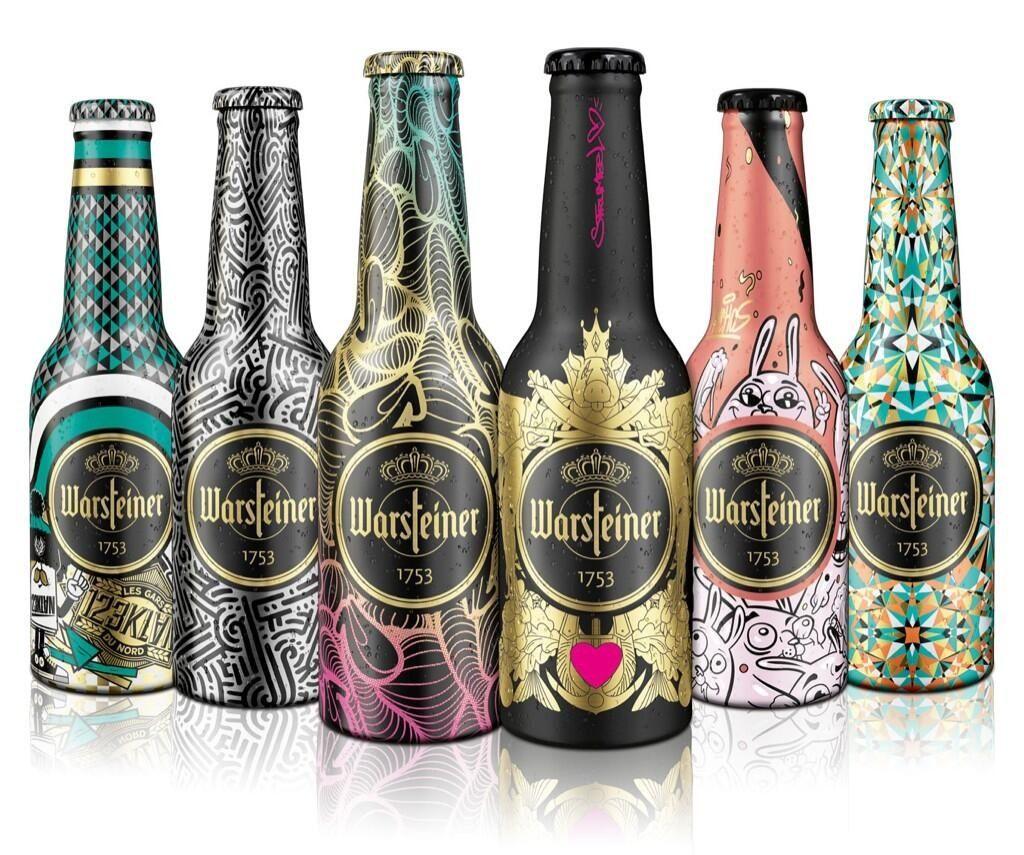 Warsteiner beer   Marketing   Beer label design, Beer
