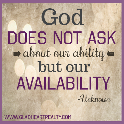 God Does Not Ask About Your Ability But Our Availability Unknown Inspiration Motivation Qu Funny Inspirational Quotes Inspirational Humor Funny Quotes
