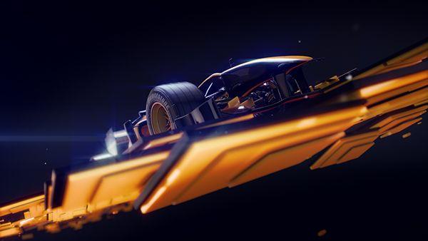 Formula 1 Id S For Antena 3 Nitro Channels Digital Artwork Grid Design Motion Design