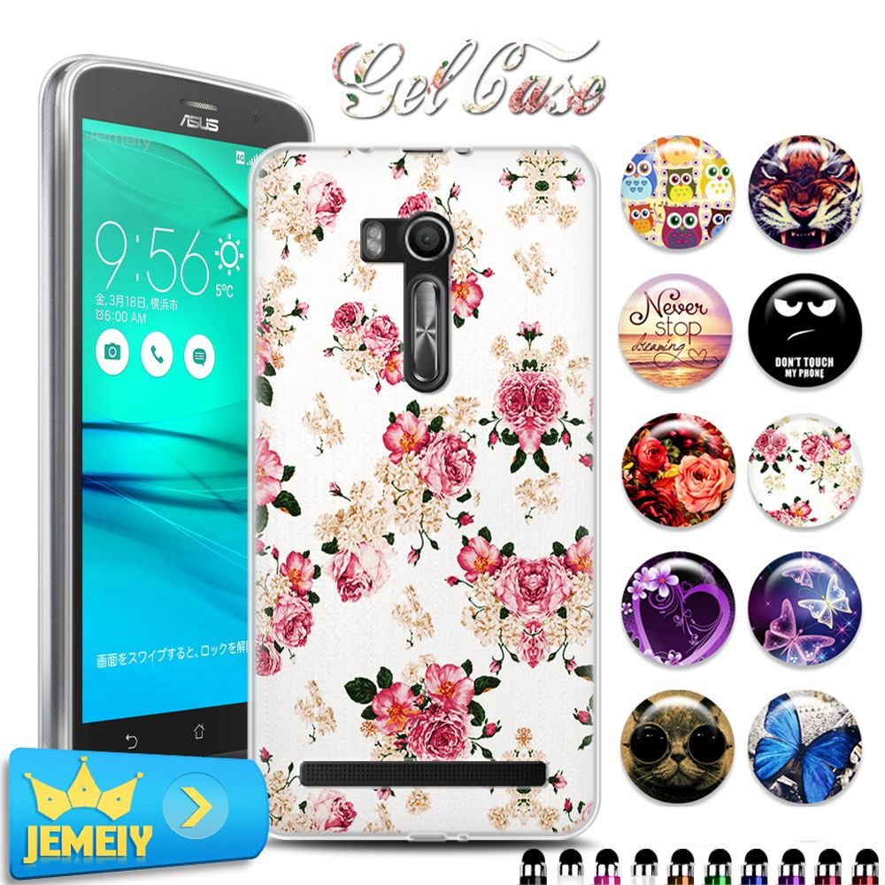 the latest 47159 24d49 TPU Soft Case Gel Cover For Asus Zenfone Go ZB551KL 5.5 phone case ...