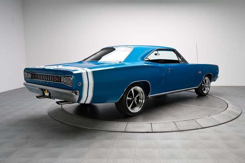 Blue 1968 Dodge Coronet R/T | RK Motors Charlotte | Collector and Classic Cars