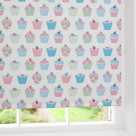 cupcakes blackout roller blind dunelm mill home. Black Bedroom Furniture Sets. Home Design Ideas