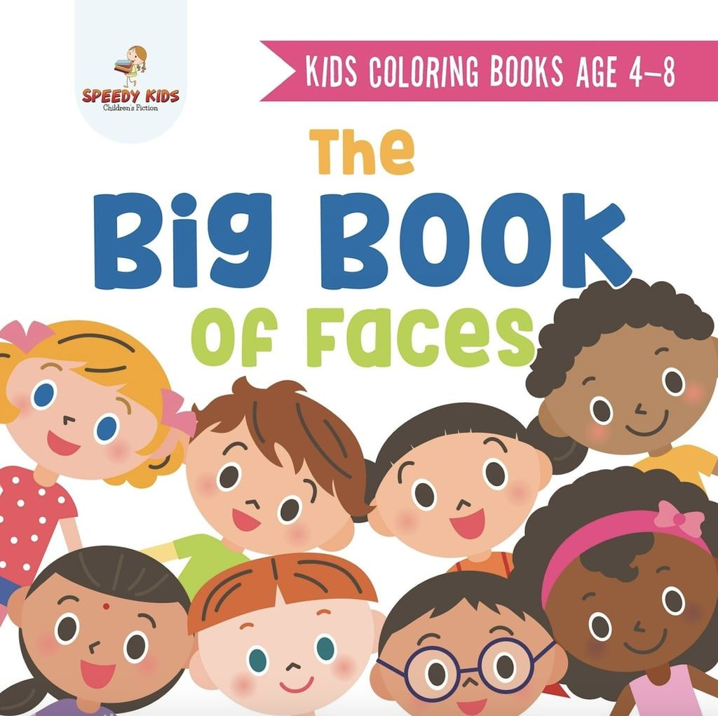 The Big Book Of Faces Coloring Book In
