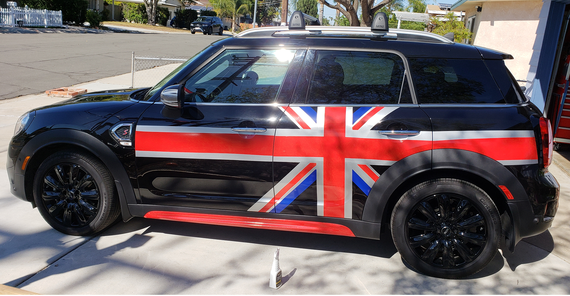 Mini Countryman S All 4 Black Union Jack Mini Countryman Black