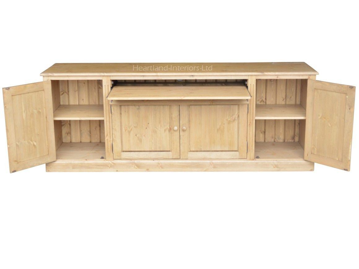 traditional hidden home office. Traditional 7ft Wide Hidden Home Office Sideboard Desk, Hideaway Workstation SDH4