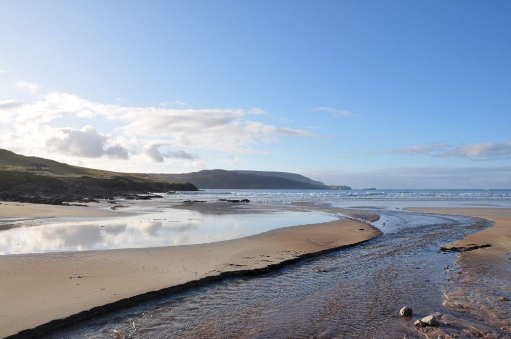 Seascape in Durness, Scottish Highlands