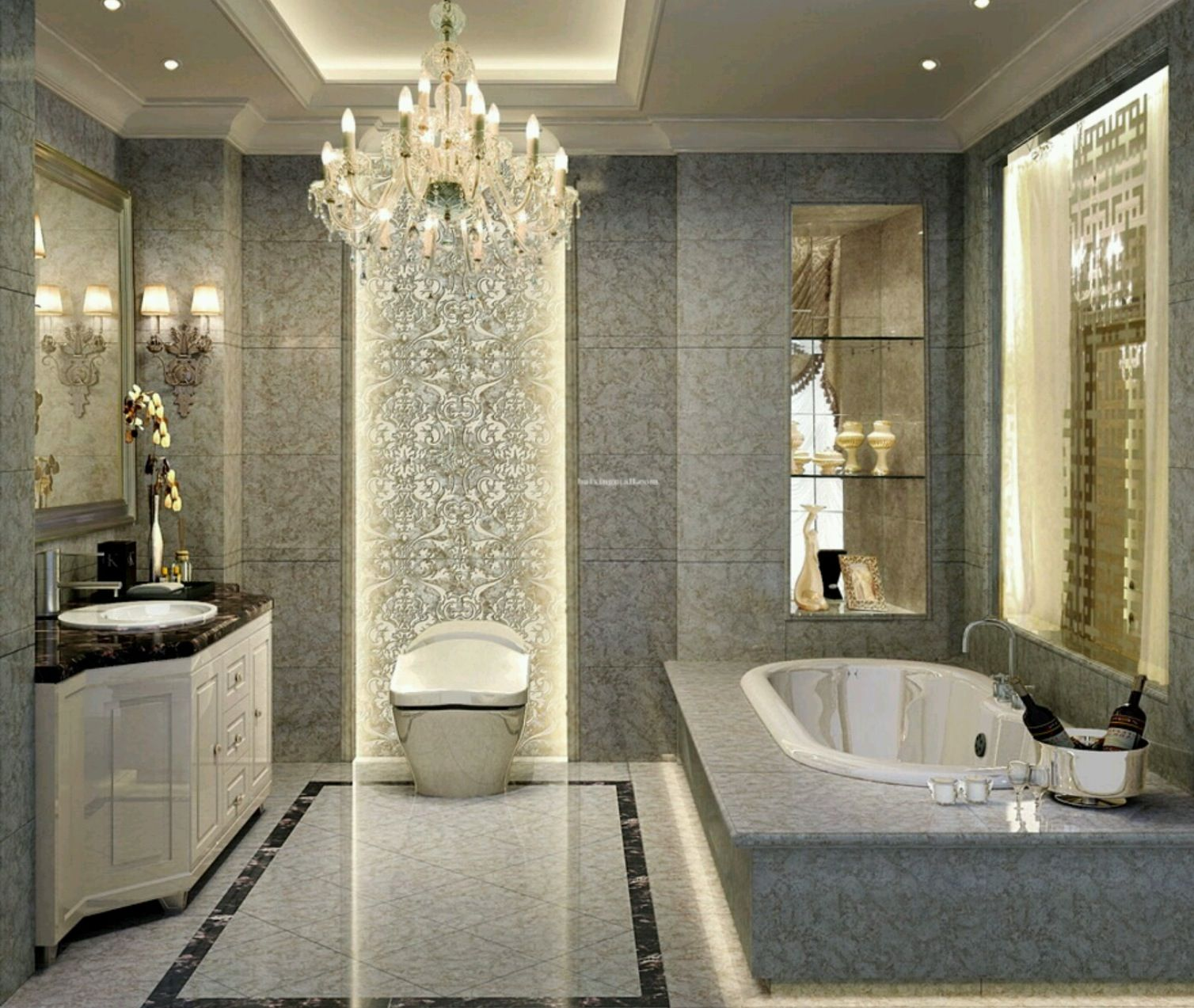 Extreme elegance and style luxury bathrooms pinterest