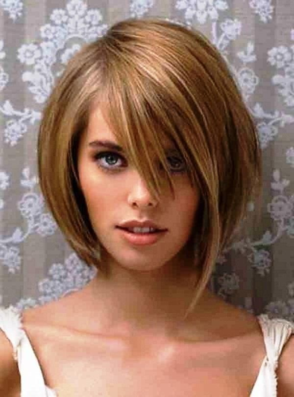 Asymmetrical Hairstyle For Thin Hair And Oval Face Google Search