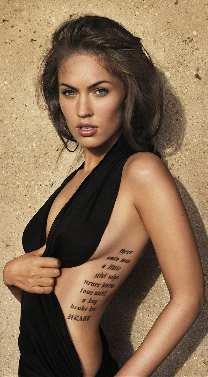 Pin by Ruvym Kalyuta on Hotties #wcw | Megan fox tattoo ...