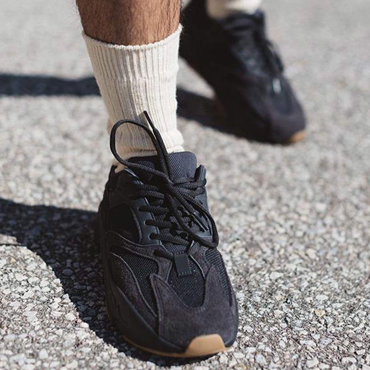 yeezy utility black 700 on feet